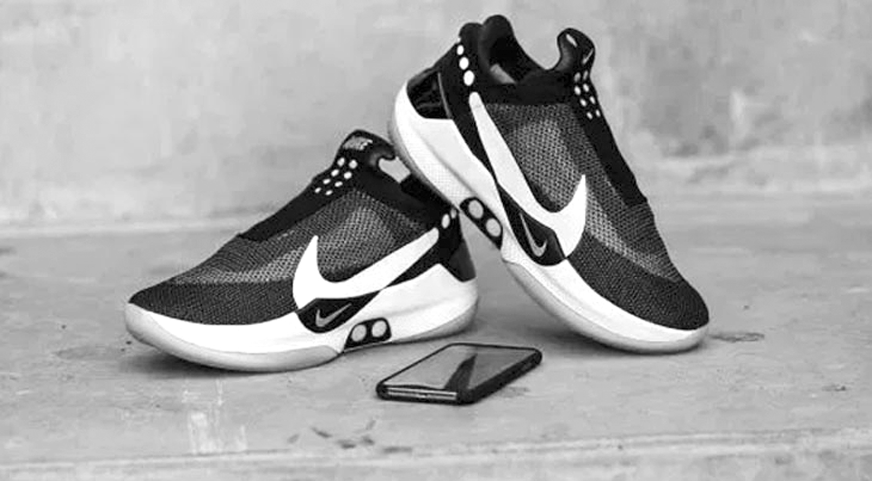 f6e3865ea5 Nike unveils self-lacing shoes controlled by smartphone app